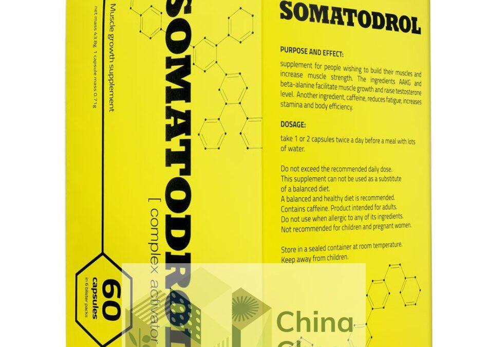 Somatodrol – tabletki na przyrost masy mięśniowej